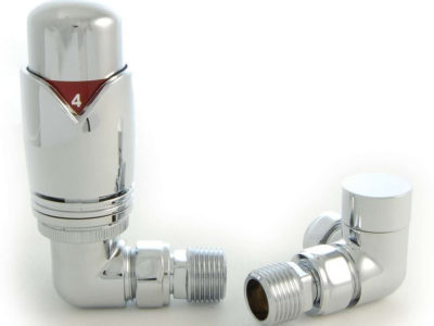 Realm Chrome Thermostatic Radiator Valves